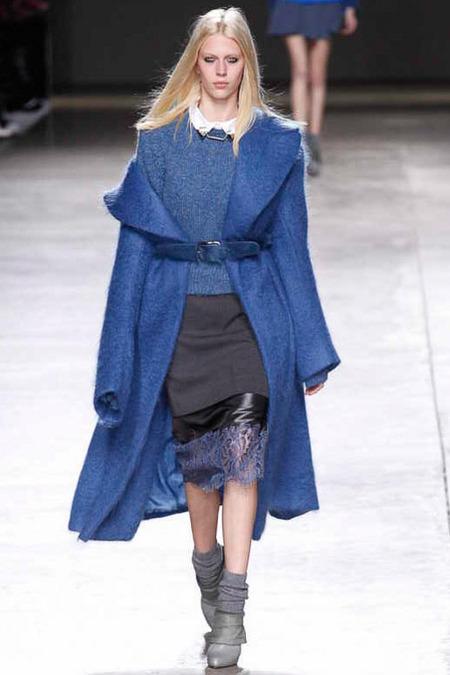 catwalk 2 blue mohair coat styloko